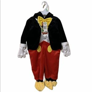 NWT Mickey Mouse Disney costume size 3-6months